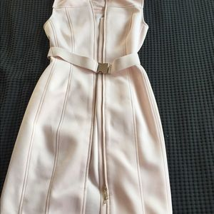 Pale pink vest, stretchy material
